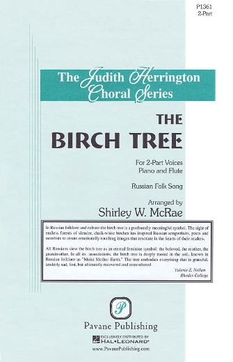 The Birch Tree : 2-Part : Shirley McRae : Sheet Music : 08301871 : 884088328818