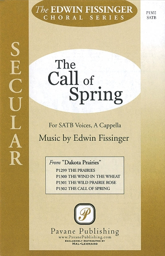 The Call of Spring : SATB : Edwin Fissinger : Edwin Fissinger : Sheet Music : 08301872 : 884088328825