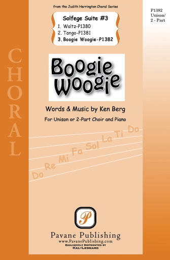 Boogie Woogie : 2-Part : Ken Berg : Ken Berg : Sheet Music : 08301885 : 884088483821