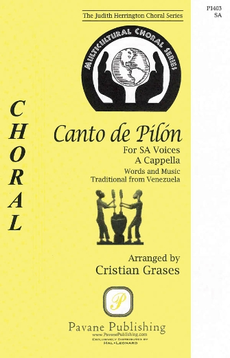 Canto de Pilon : 2-Part : Cristian Grases : Sheet Music : 08301912 : 884088552589