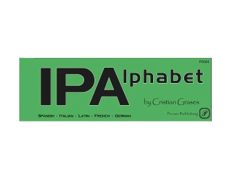 Product Cover for IPA Alphabet