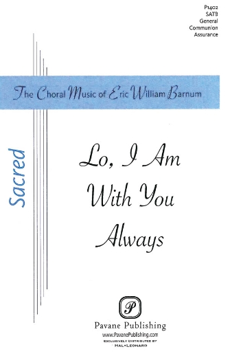 Product Cover for Lo, I Am with You Always