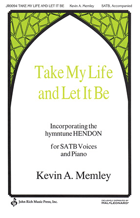 Product Cover for Take My Life and Let It Be