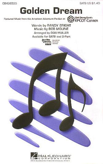 Golden Dream : SATB : Don Muller :  1 CD : 08428325 : 073999283259
