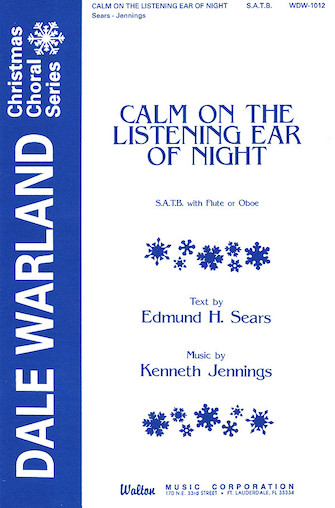 Calm on the Listening Ear of Night : SATB : 08501353 : Sheet Music : 08501353 : 073999622997