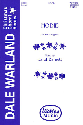 Hodie : SATB divisi : Dale Warland Singers : Dale Warland Singers : Sheet Music : 08501406 : 073999955712