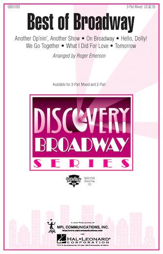 Product Cover for Best of Broadway (Medley)