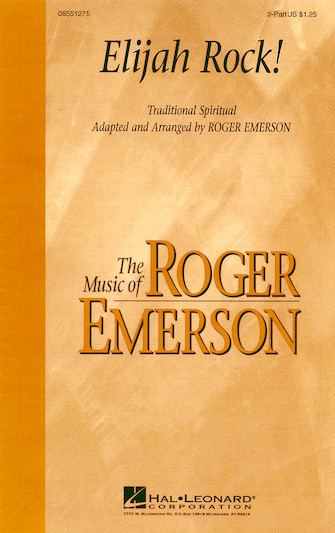 Elijah Rock : 2-Part : Roger Emerson : Sheet Music : 08551275 : 073999017502