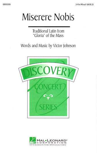 Miserere Nobis : 3-Part : Victor C. Johnson : Victor C. Johnson : Sheet Music : 08551305 : 073999821208