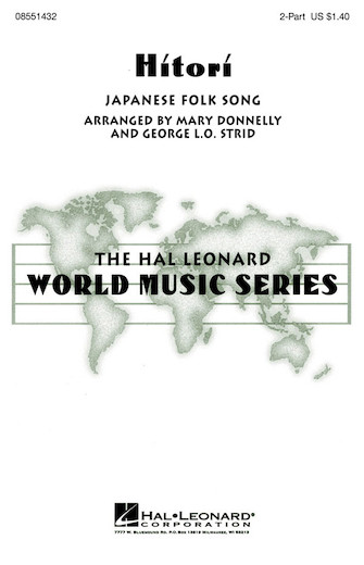 Hitori : 2-Part : Mary Donnelly : Sheet Music : 08551432 : 073999422924