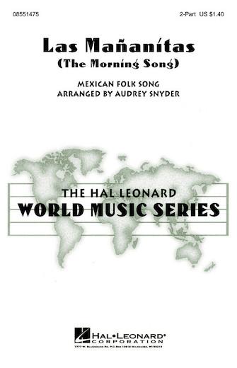 Las Mananitas : 2-Part : Audrey Snyder : Songbook & Online Audio : 08551475 : 073999292916
