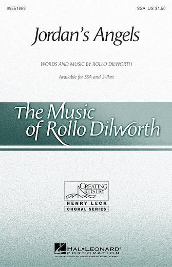 Jordan's Angels : SSA : Rollo Dilworth : Sheet Music : 08551668 : 073999835274