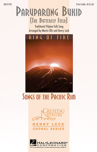 Paruparong Bukid : SSA : Martin Ellis : Sheet Music : 08551720 : 073999994551