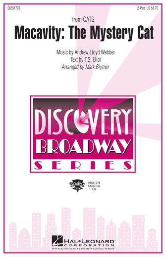 Macavity: The Mystery Cat : 2-Part : Mark Brymer : Andrew Lloyd Webber : Cats : Sheet Music : 08551776 : 073999322149
