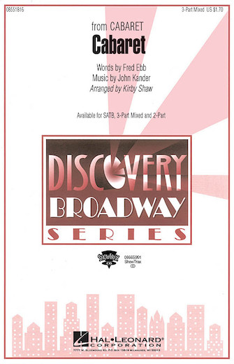 Cabaret : 3-Part : Kirby Shaw : John Kander : Cabaret : Songbook : 08551816 : 073999782141