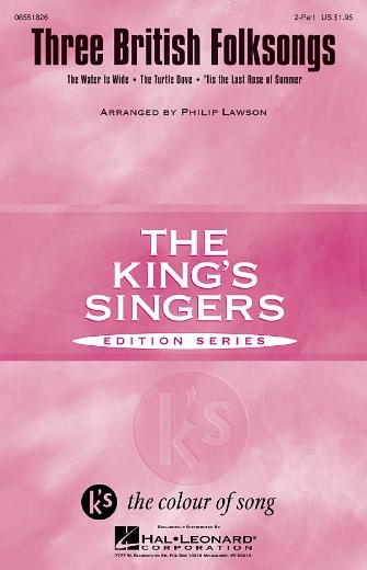 Three British Folksongs : 2-Part : Philip Lawson : Sheet Music : 08551826 : 073999975376