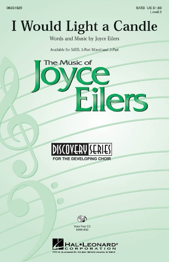 I Would Light a Candle : SATB : Joyce Eilers : Sheet Music : 08551829 : 884088009885