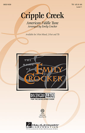 Cripple Creek : TB : Emily Crocker : Sheet Music : 08551839 : 884088017606