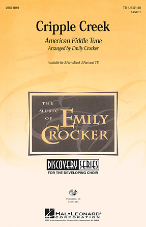 Cripple Creek : 3-Part : Emily Crocker : Sheet Music : 08551849 : 884088026516