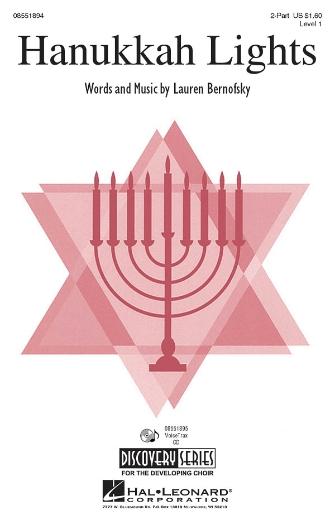 Hanukkah Lights : 2-Part : Lauren Bernofsky : Lauren Bernofsky : Sheet Music : 08551894 : 884088071752