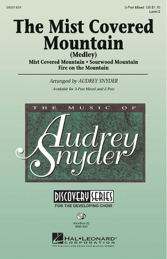 The Mist Covered Mountain (Medley) : 3-Part : Audrey Snyder : Sheet Music : 08551931 : 884088126001
