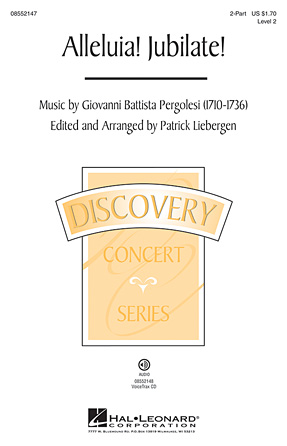 Alleluia! Jubilate! : 2-Part : Patrick Liebergen : Sheet Music : 08552147 : 884088326036