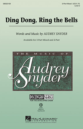 Ding Dong! Merrily on High : SAB : Audrey Snyder : Audrey Snyder : Sheet Music : 08552159 : 884088350994