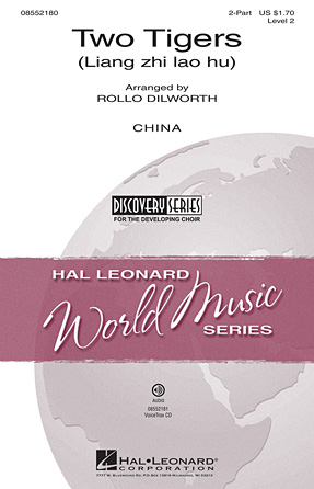 Two Tigers : 2-Part : Rollo Dilworth : Sheet Music : 08552180 : 884088365837