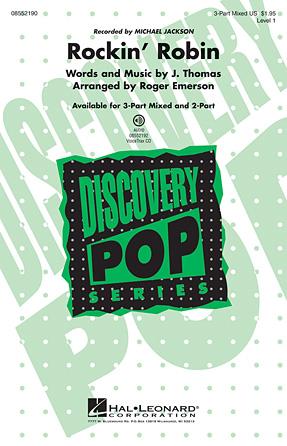 Rockin' Robin : SAB : Roger Emerson : Leon Rene : Michael Jackson : Sheet Music : 08552190 : 884088455231