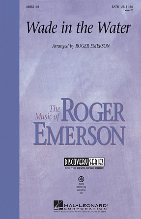 Wade in the Water : SATB : Roger Emerson : Sheet Music : 08552193 : 884088455262