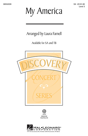 My America : SA : Laura Farnell : Sheet Music : 08552228 : 884088471132