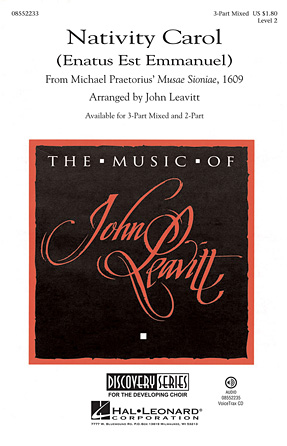 Nativity Carol : SAB : John Leavitt : Sheet Music : 08552233 : 884088482534