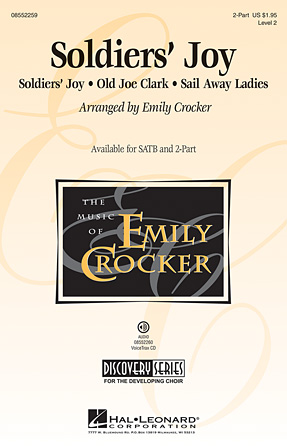 Soldiers' Joy : 2-Part : Emily Crocker : Sheet Music : 08552259 : 884088489212