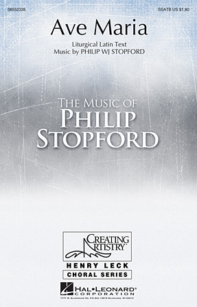 Ave Maria : SSATB : Philip Stopford : Philip Stopford : Sheet Music : 08552335 : 884088557645