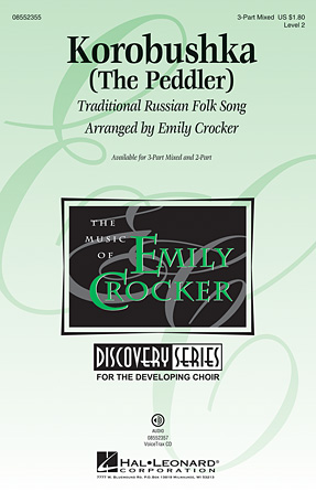 Korobushka : SAB : Emily Crocker : Sheet Music : 08552355 : 884088564353