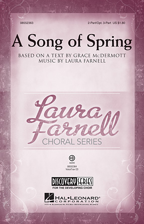 A Song of Spring : 2-Part : Laura Farnell : Laura Farnell : Songbook : 08552363 : 884088614768