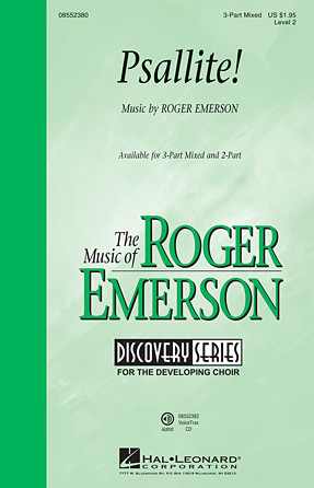 Psallite! : 2-Part : Roger Emerson : Roger Emerson : Sheet Music : 08552381 : 884088630294