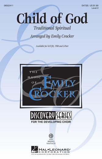 Child of God : SATB : Emily Crocker : Sheet Music : 08552411 : 884088641467