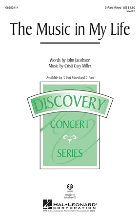 The Music in My Life : 3-Part : John Jacobson : John Jacobson : Sheet Music : 08552414 : 884088642976
