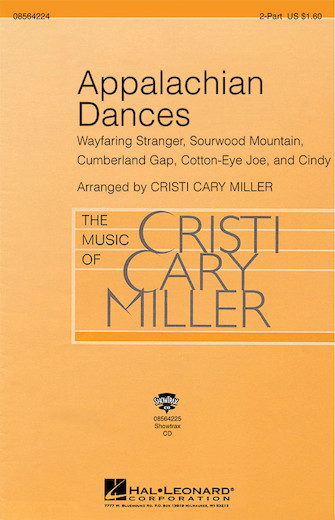 Appalachian Dances : 2-Part : Cristi Cary Miller : Sheet Music : 08564224 : 073999802528