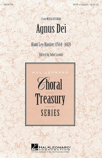 Agnus Dei (from Missa Secunda) : SATB : John Leavitt : Sheet Music : 08596736 : 073999967364