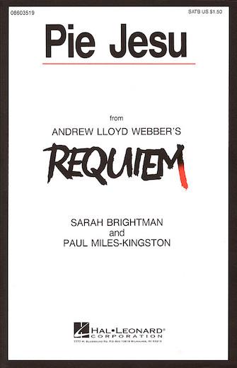 Pie Jesu : SATB : Andrew Lloyd Webber : Andrew Lloyd Webber : Sarah Brightman : Sheet Music : 08603519 : 073999035193