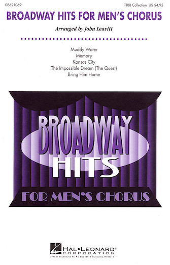 Product Cover for Broadway Hits for Men's Chorus (Collection)