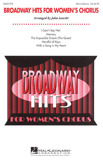 Product Cover for Broadway Hits for Women's Chorus (Collection)