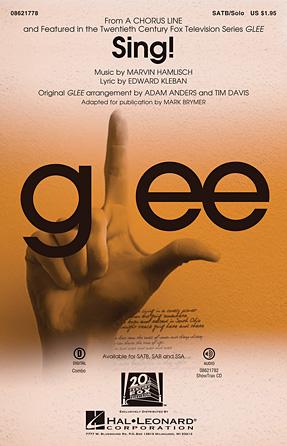 Sing! : SATB : Tim Davis : Marvin Hamlisch : A Chorus Line : Book & 1 CD : 08621778 : 884088551087