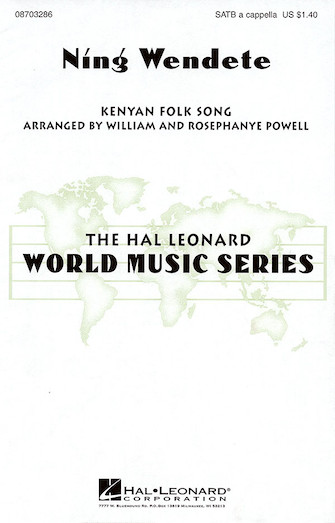 Ning Wendete : SATB : Rosephanye Powell  : Sheet Music : 08703286 : 073999955514