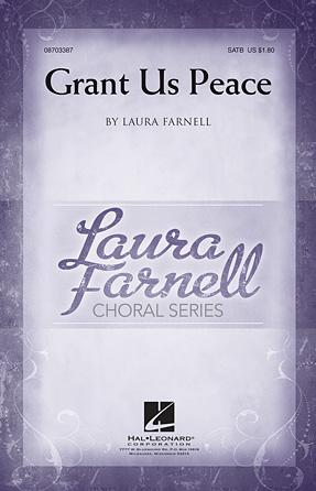 Grant Us Peace : SATB : Laura Farnell : Johannes Brahms : Sheet Music : 08703387 : 884088528485