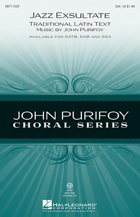 Jazz Exsultate : SSA : John Purifoy : John Purifoy : Sheet Music : 08711529 : 884088498863