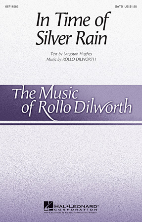 In Time of Silver Rain : SATB Divisi : Rollo Dilworth : Sheet Music : 08711566 : 884088645984