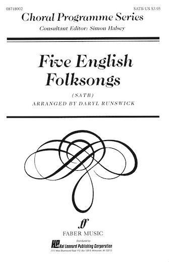 Product Cover for Five English Folksongs (Collection)